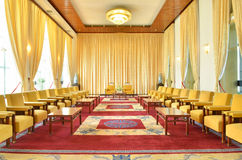 Meeting room in Independence Palace Stock Photography