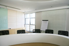Meeting room interior Royalty Free Stock Image