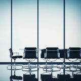 Meeting room interior Royalty Free Stock Photo
