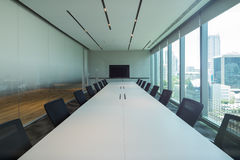 Meeting room interior Royalty Free Stock Images