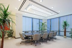 Meeting Room Interior Royalty Free Stock Photos