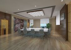 Meeting Room Interior Royalty Free Stock Photo