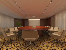 Meeting Room Interior Stock Image