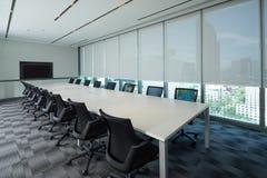 Meeting room interior Stock Photo