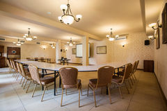 Meeting room in luxury hotel Royalty Free Stock Photography