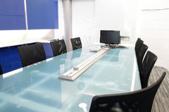 Meeting room. Metting room in industrial company Royalty Free Stock Image