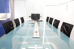 Meeting room. Metting room in industrial company Royalty Free Stock Photography