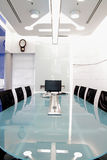 Meeting room. Metting room in industrial company Royalty Free Stock Photos