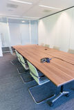 Meeting room. Modern meeting room with equipment for teleconference Stock Photo