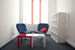 Meeting room. In the modern office Royalty Free Stock Photo