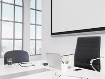 Meeting room, negotiations Stock Photos