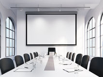 Meeting room, negotiations Stock Images