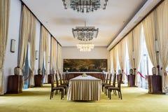 Meeting room at the Reunification Palace, Ho Chi Minh Royalty Free Stock Photo