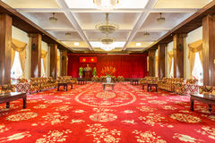Meeting room at the Reunification Palace, Ho Chi Minh Stock Photo