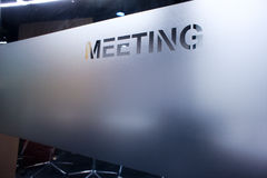 Meeting room sinage Stock Photography
