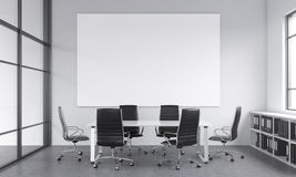 Meeting room for six Royalty Free Stock Photography