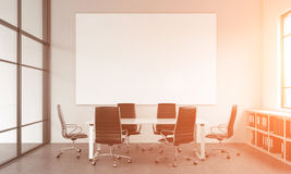 Meeting room for six Stock Photography