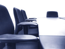 Meeting room with Table seats Business concept Royalty Free Stock Images
