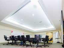 Meeting Room. View of a large meeting room Royalty Free Stock Photo