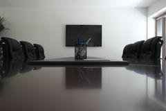 Meeting room. View of the sitting room Stock Image