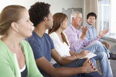 Meeting Of Support Group Royalty Free Stock Images