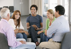 Meeting Of Support Group Royalty Free Stock Image