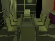 Meeting table Royalty Free Stock Photos