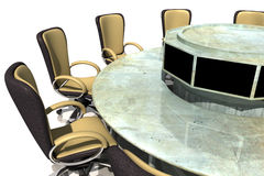 Meeting table Stock Photography