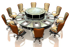 Meeting table Stock Images