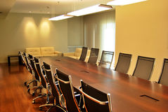 Meeting table Royalty Free Stock Photography