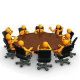 Meeting table Royalty Free Stock Image