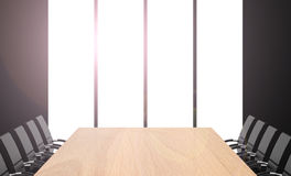 The meeting table Stock Photography