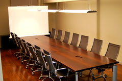 Meeting table Stock Photo