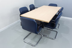 Meeting table in the room Stock Photo