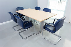 Meeting table in the room Royalty Free Stock Photography