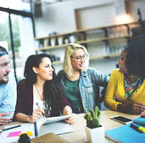 Meeting Talking Discussion Brainstorming Communication Concept Royalty Free Stock Images