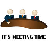Meeting time Stock Photo