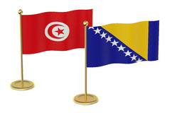 Meeting Turkey and Bosnia and Herzegovina Royalty Free Stock Photo