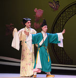 "The meeting was stopped-Kunqu Opera ""the West Chamber"" Royalty Free Stock Photos"