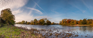 Meeting of the Waters Panorama Stock Photography
