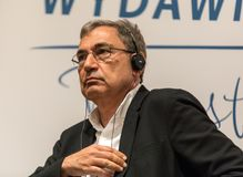 Free Meeting With The Turkish Writer, Nobel Prize Laureate Orhan Pamuk In Krakow On The Occasion Of The 65th Anniversary Of The Literar Stock Images - 117197064