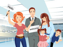 Meeting_people Royalty Free Stock Photography