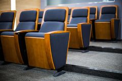 Meetings chair Stock Images