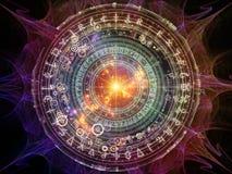 Meetkunde van Astrologie vector illustratie