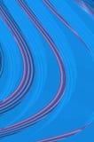 Meetkundegunst - in azuurblauw. Royalty-vrije Stock Foto's