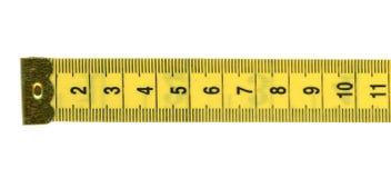 meetlintheerser met metrische eenheden royalty-vrije stock fotografie
