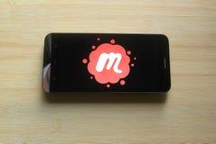 Meetup app στοκ φωτογραφίες