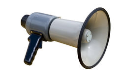 Megáfono foto de archivo