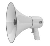 Megáfono o megáfono Fotografía de archivo libre de regalías
