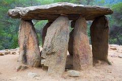 Megálito de Pedra Gentil Imagens de Stock
